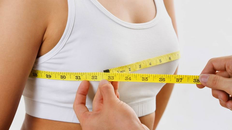 Natural breast size pictures
